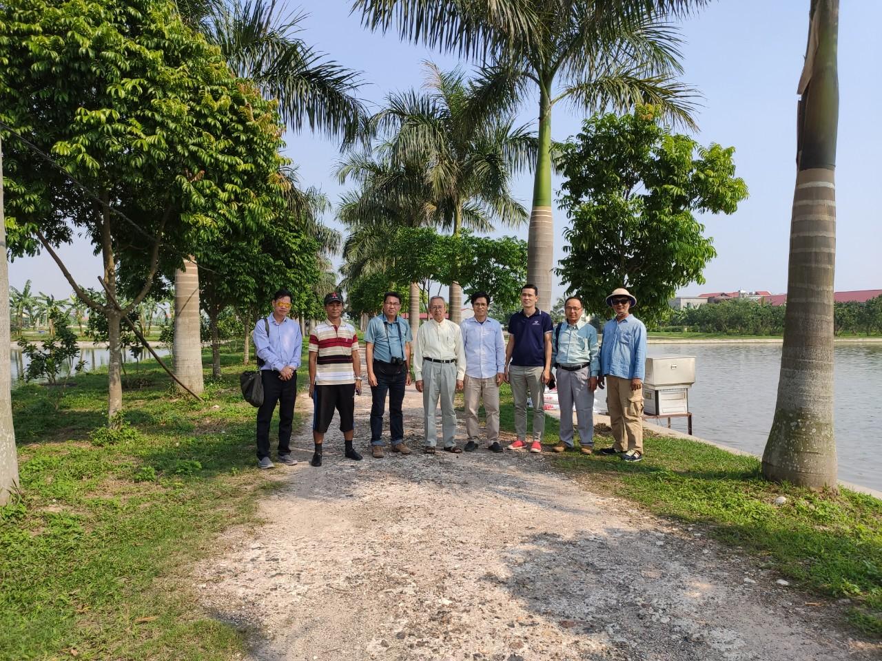 MYANMAR DELEGATIONS VISIT FISH FARM IN VIETNAM