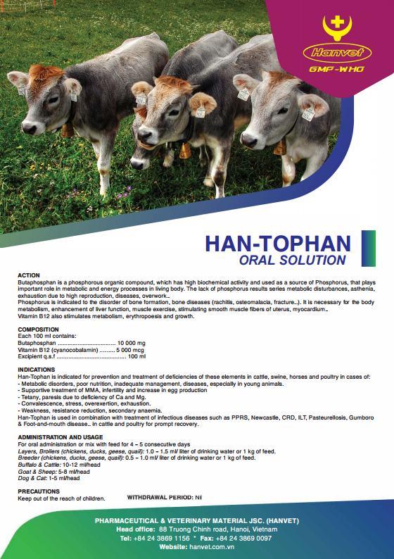 HAN-TOPHAN ORAL