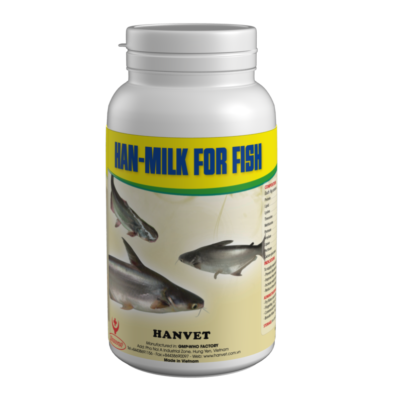 Han-milk for fish