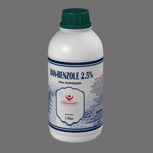 HAN-BENZOLE 2.5%