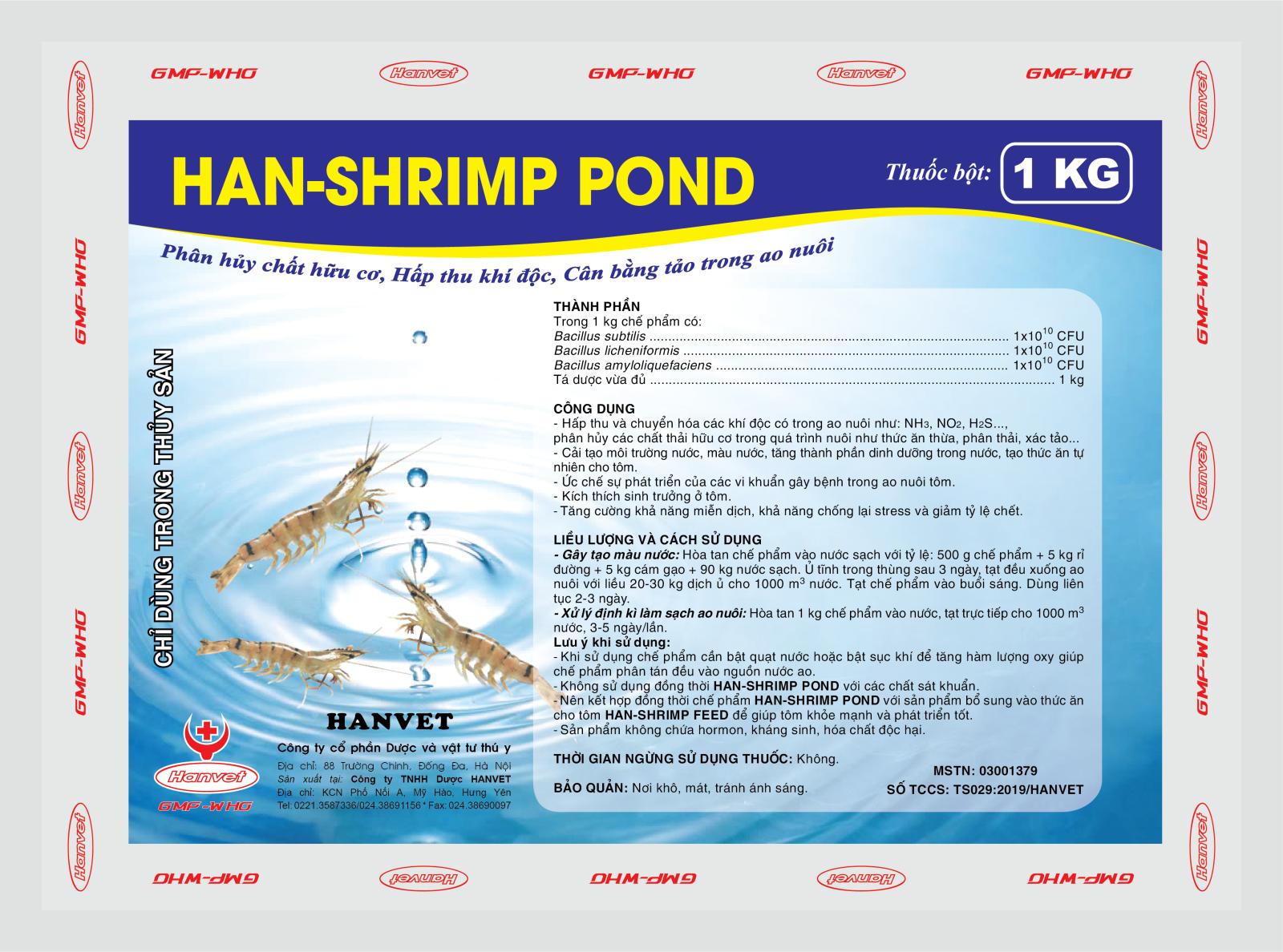 HAN-SHRIMP POND
