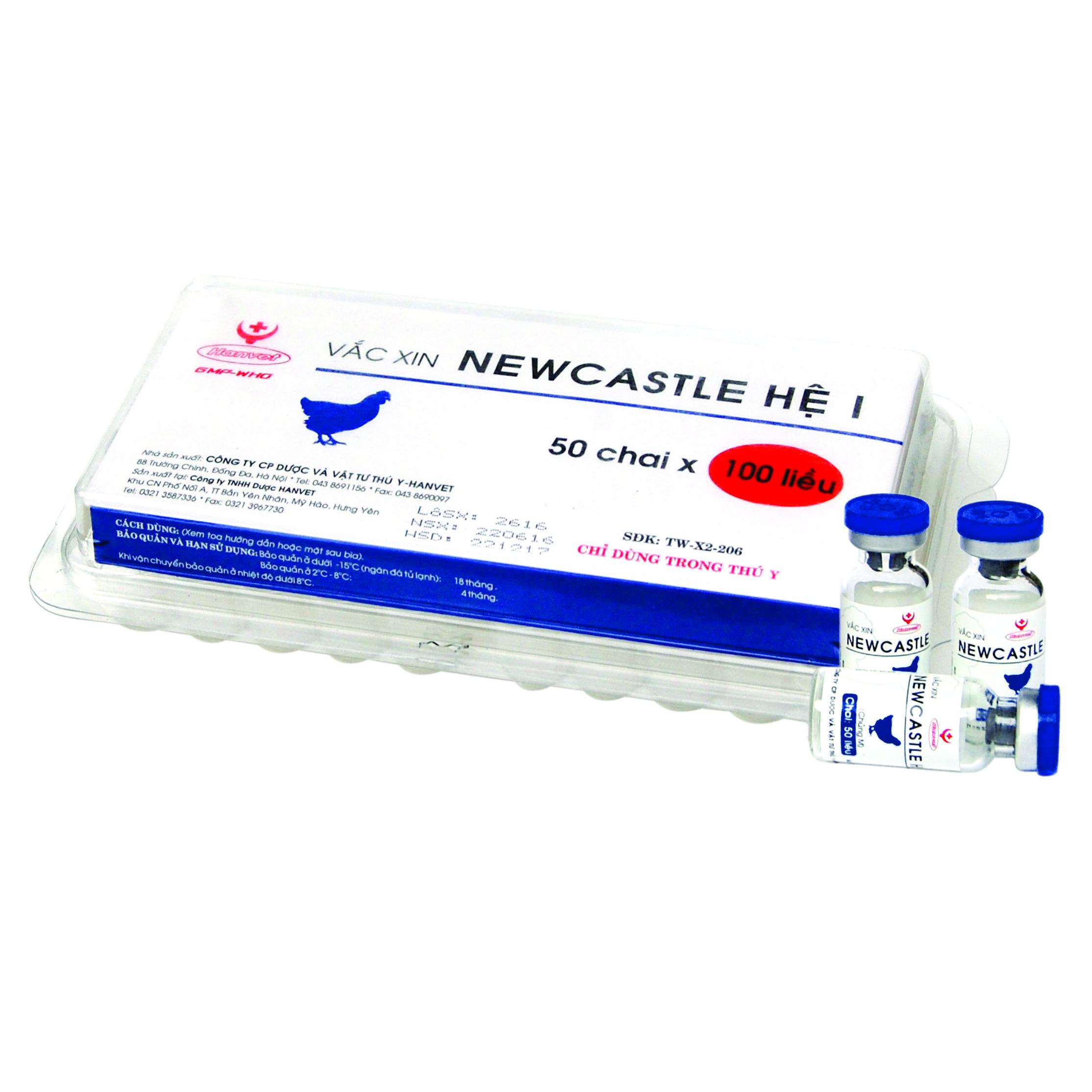 Vắc xin Newcastle Hệ I (Chủng M)