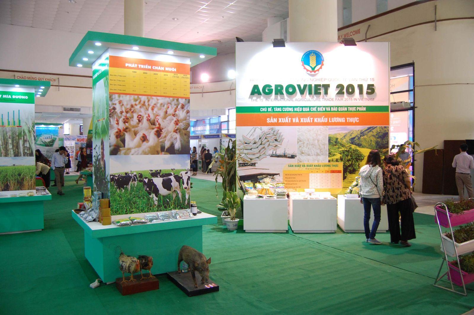 TRIỂN LÃM QUỐC TẾ AGROVIET 2015