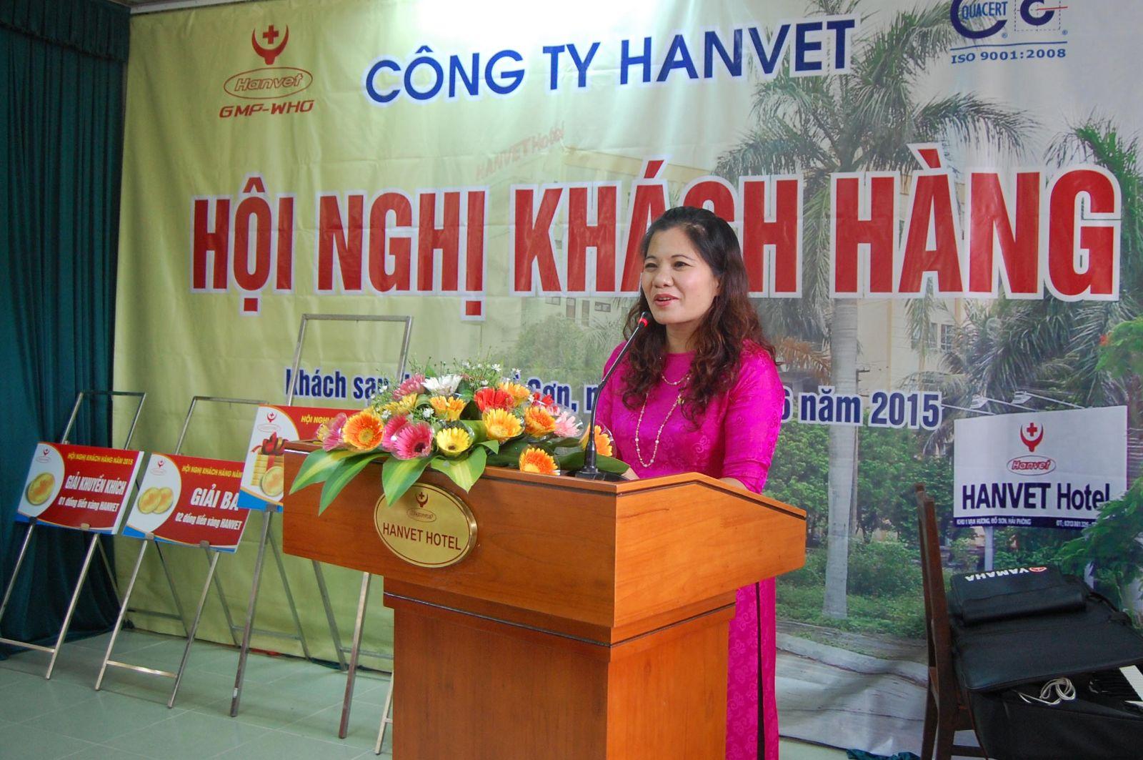 Hội nghị khách hàng 2015 của công ty Hanvet- Tại Khách sạn Hanvet - Đồ Sơn, Hải Phòng